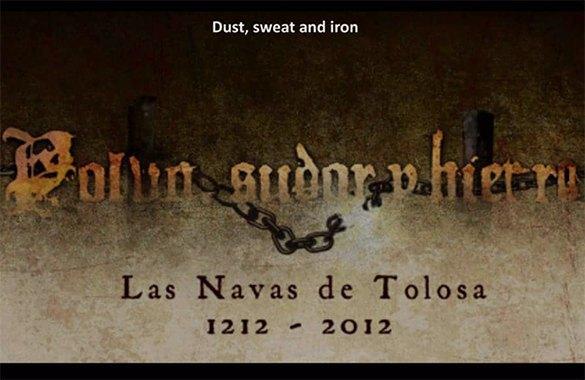 Teaser documental Navas de Tolosa - Polvo, sudor y hierro. Productora audiovisual